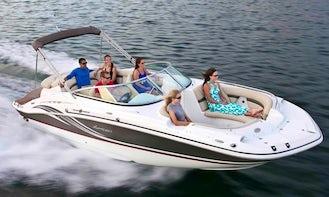 ⭐️  24' Hurricane Deck Boat 200HP - SD2400 Dual Console Model (Anna Maria Island) *Insurance Included*