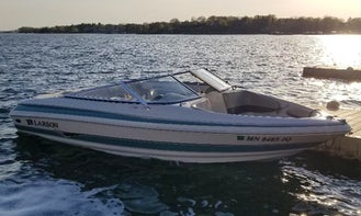 19' Larson LXI Open Bow for 9 Person for rent