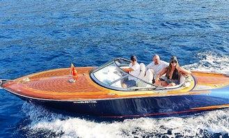 Classic Kral 700 23' Speedboat Tour, Montenegro!