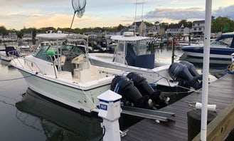 30' Trophy Walk Around for 8 people in Manasquan