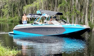 2014 Nautique G23 Wakesurf and Wakeboard Lessons in Central Florida