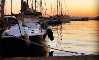 Albin Viggen 26ft Sailboat for Charter on Little Hudson