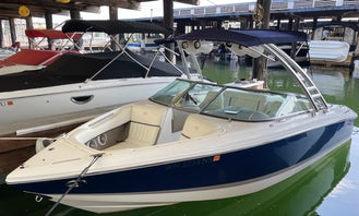 22' Cobalt Bowrider moored in Lake Union!