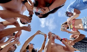 Luxury Party Cruise for up to 17 people! We're Rated #1 Party Cruises in San Diego!