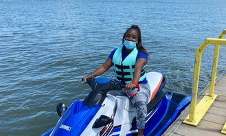 Rent this Yamaha EX Deluxe Waverunner for Lake Wateree, SC