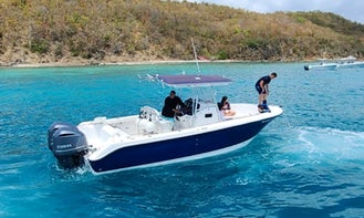 Center Console Day Trip with Snorkeling and More in Fajardo