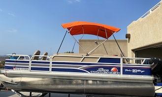 20' Suntracker Fishing Pontoon in Lake Havasu City