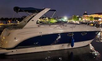 Chapparell 330 Signature 35' Pleasure Cruiser on Lake Ray Hubbard