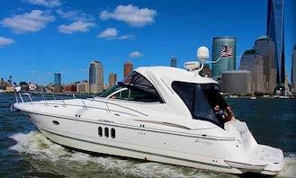 M/V Knotty Tigress M/V Knotty Tigress is a Cruisers 420 Express Cruiser Rental in Long Island Sound