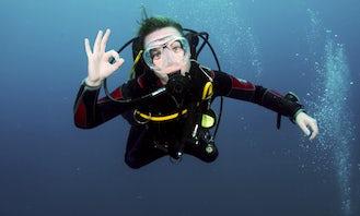 PADI open water course / 18M license / Dibba Al Fujairah