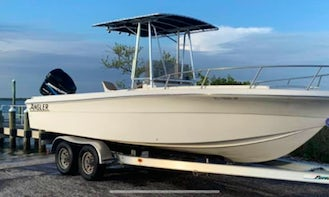 27' Angler Center Console for up to 8 people in Enterprise