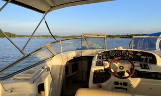32 Chris-Craft Express Cruiser for Rent in Lake Norman, North Carolina.