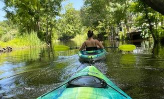 2 Pelican Mustang Kayaks for rent in Myrtle Beach