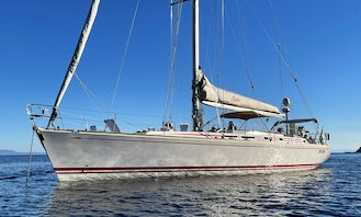 Swan 63' Sailboat Charter in south Italy