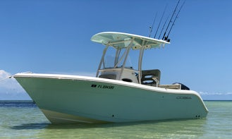 Choose your own adventure with our 22' Cobia 2200 Center Console! Amazing Float Plans !