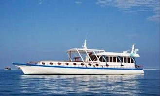 Fishing Power Boat Maldives | Minimum 6 days rental