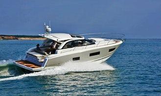 Jeanneau Leader 40 Motor Yacht Hire in Puerto Sotogrande - Spain