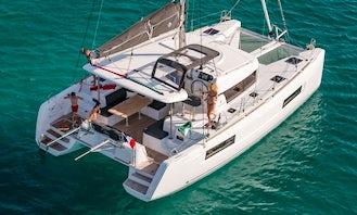 Lagoon 40 Catamaran for hire in Sotogrande, Spain