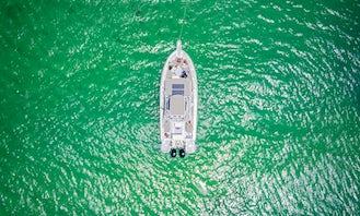 NEW Piratas TOO   2021 Tajoma 23' Speedster   Playa del Carmen Boat Rental