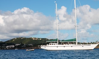 64' Roberts Sailing Ketch for Charter in Jacksonville Area