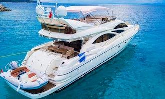 Power Mega Yacht for 10 People in Muğla