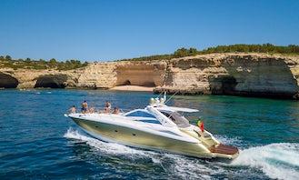 Sunseeker Predator 55 for charter in Albufeira Marina, Algarve