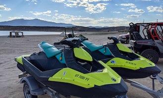 2 SeaDoo Jetskis for Rent on Yuba Lake