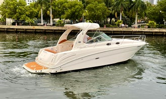 2 Hours Trips Available!! Cruise and party in style in this beautiful Sea Ray in Miami, Florida