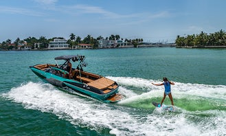 Axis A24 Wakeboard / Wakesurf boat for Charter in South Beach
