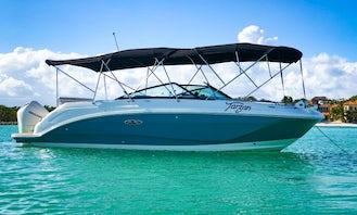 Sea Ray SDX 25 for Tulum and  Playa del Carmen!!