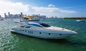 🔥 65ft Azimut || Luxury Yacht in Miami - 13 People