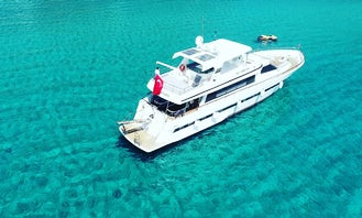 Mega yatch for 35 person in Antalya