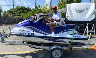 Yamaha Waverunner Jet Ski for rent in Miami - $250 for 3 hours