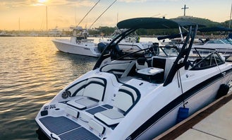 Yamaha 26ft Power Jet Boat for Charter in Cabo San Lucas