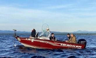 Guided Fishing Charter on Lake Champlain