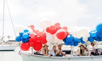 Duffy Cruising in Marina Del Rey Harbor