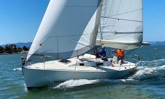 FAST J/105 Sailing Yacht Charter Downtown San Francisco, California!