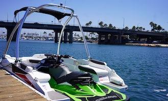 Sea Doo Jet Ski + Boat Combo in Lake Pyramid