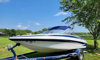 Crownline 180BR for up to 7 people in Kansas City