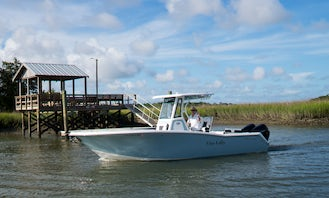 27' Tidewater Center Console on Shem Creek in Mt. Pleasant, SC