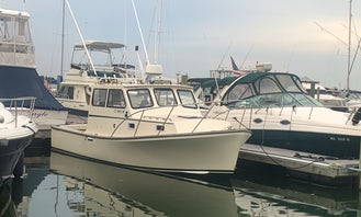 General Marine 26' Motor Yacht for Comfortable Harbor Cruise!
