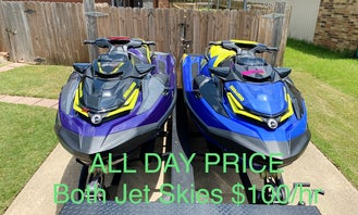2021 High Performance Jet Skis for Water Sports, Tubing, or just an Exciting Day on the Lake!