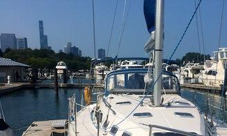 38' Catalina Sailing Cruise in Chicago