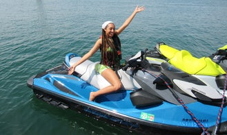 2021 SeaDoo GTI 130 for rent in Marina del Rey, CA with Bluetooth Speaker and Front Storage
