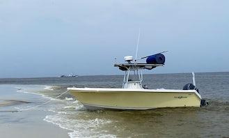 Sailfish Center Console for Island Cruiser or Custom Adventures in Pass Christian