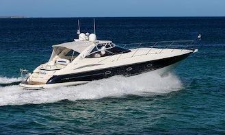 Stunning Sunseeker Yacht Charter with Captain in Golfe-Juan