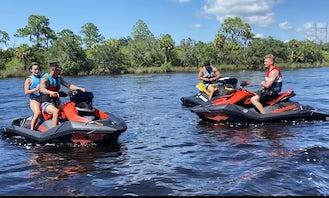 2021 SeaDoo Spark and 2Up Jetskis for Hourly Rentals
