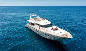 Super Yachts Viking Sport Cruiser 72 in Funchal Marina
