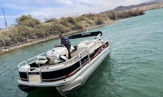 Suntracker Pontoon Rental in Lake Havasu City