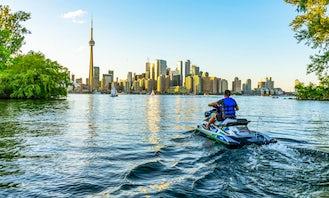 Jet Ski Rental in Toronto - 2021 Sea Doo Spark Trixx Jetskis!! ☀️